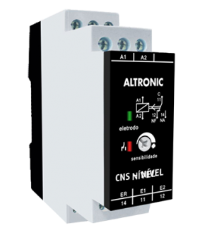 CNS – Controle de Nível com Sinalização do Eletrodo Submerso Inferior