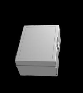 Caixa plástica CPS 03